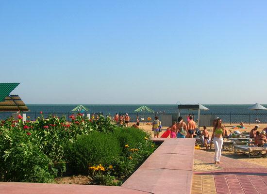 Скадовск - курорт в Херсонской области на берегу Черного моря